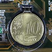 CMOS-Batterie-Centmuenze