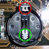 CMOS-Batterie-Sockel